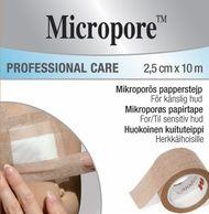 3M Micropore ruskea kuituteippi 25mmx10m